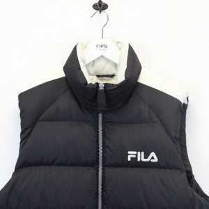 FILA Vest Jacket Black | Small