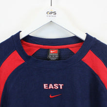Load image into Gallery viewer, TEAM NIKE 00s Fleece Sweatshirt Navy Blue | XL