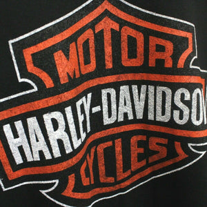 HARLEY DAVIDSON 90s Sweatshirt Black | Small