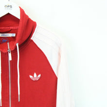 Load image into Gallery viewer, Womens ADIDAS Track Top Red | Small