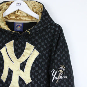 MAJESTIC New York YANKEES Hoodie Black | Medium