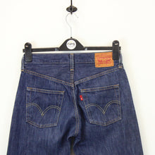 Load image into Gallery viewer, Womens LEVIS 501 Jeans Dark Blue | W28 L30