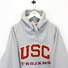 Load image into Gallery viewer, COLOSSEUM 90s USC Trojans Hoodie Grey | XL