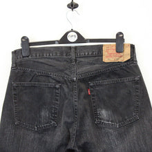 Load image into Gallery viewer, LEVIS 501 Jeans Black Charcoal | W34 L32