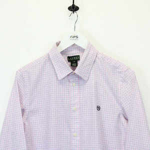 Womens RALPH LAUREN Shirt Pink | Medium