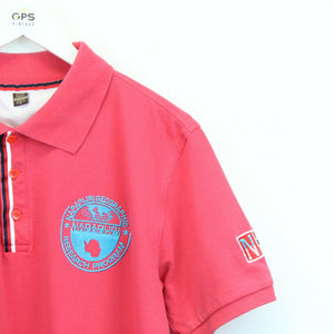 NAPAPIJRI Polo Shirt Pink | Medium
