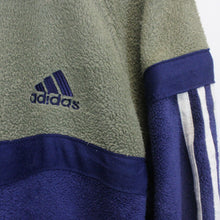 Load image into Gallery viewer, ADIDAS 90s 1/4 Zip Fleece Navy Blue | XL