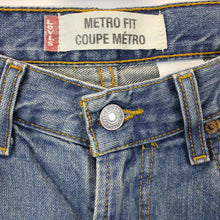 Load image into Gallery viewer, LEVIS Metro Fit Jeans Blue | W30 L30