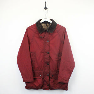 Womens BARBOUR Bedale Waxed Jacket Red | Medium