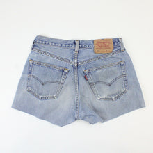 Load image into Gallery viewer, Womens LEVIS 501 Shorts Light Blue | W30