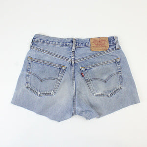 Womens LEVIS 501 Shorts Light Blue | W30