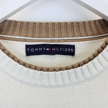 Load image into Gallery viewer, TOMMY HILFIGER Knit Sweatshirt Beige | XL