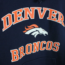 Load image into Gallery viewer, NFL Denver BRONCOS Hoodie Navy Blue | XL