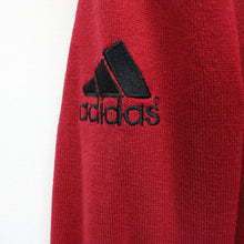Load image into Gallery viewer, ADIDAS Knit Sweatshirt Red | Large