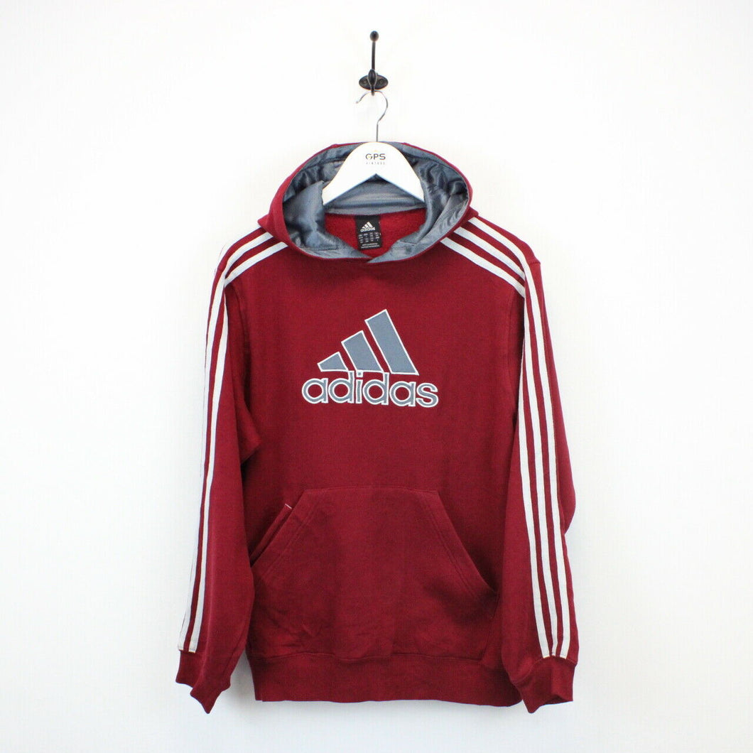 ADIDAS Hoodie Red | Medium