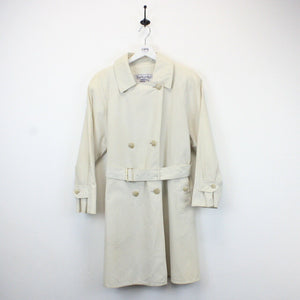 Womens BURBERRYS 90s Trench Coat Cream | Large