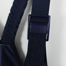 Load image into Gallery viewer, Vintage 80s ADIDAS Ski Dungarees Navy | Medium