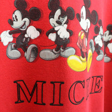 Load image into Gallery viewer, DISNEY 90s Sweatshirt Red | Medium