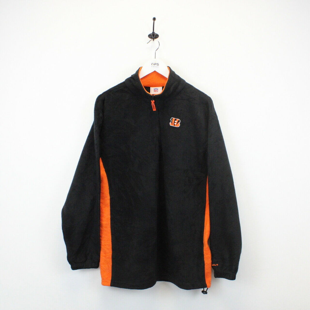 NFL Cincinnati BENGALS Fleece Black | Large