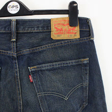 Load image into Gallery viewer, LEVIS 501 Jeans Dark Blue | W32 L32