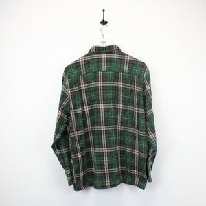 CHAMPION Check Shirt Green | XL
