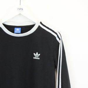 Womens ADIDAS T-Shirt Black | Small