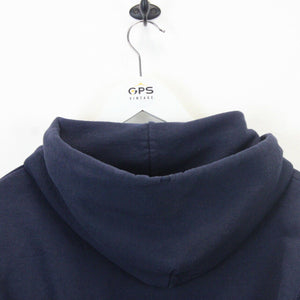 CHAMPION 90s Hoodie Navy Blue | Small