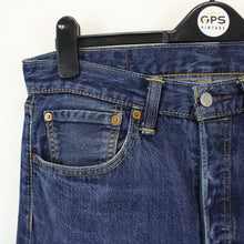 Load image into Gallery viewer, LEVIS 501 Jeans Dark Blue | W32 L34
