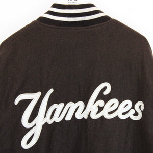 MLB 90s New York YANKEES Jacket Brown | XXL