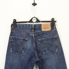 Load image into Gallery viewer, Womens LEVIS 501 Jeans Blue | W29 L34