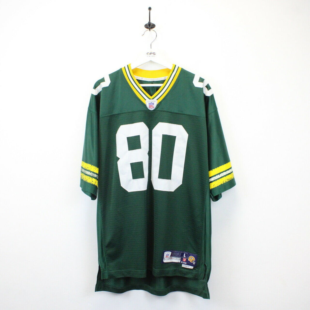 NFL REEBOK 00s Green Bay PACKERS Jersey Green | Large
