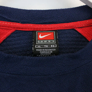 TEAM NIKE 00s Fleece Sweatshirt Navy Blue | XL