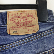Load image into Gallery viewer, LEVIS 501 Shorts Blue | W32