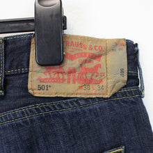 Load image into Gallery viewer, LEVIS 501 Jeans Dark Blue | W40 L34