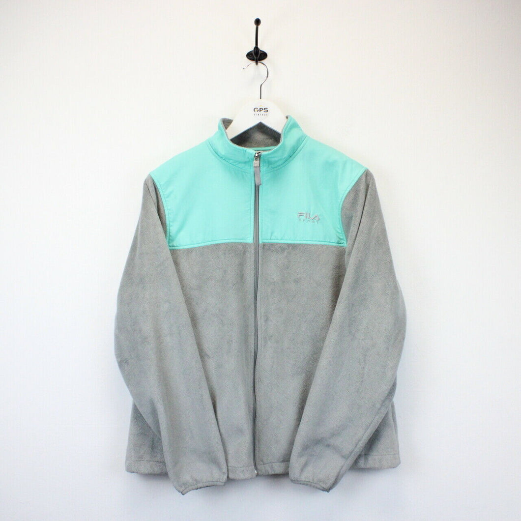 Womens FILA 00s Fleece Grey | Large