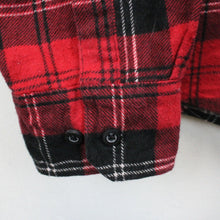 Load image into Gallery viewer, Flannel Plaid Shirt Red | Large