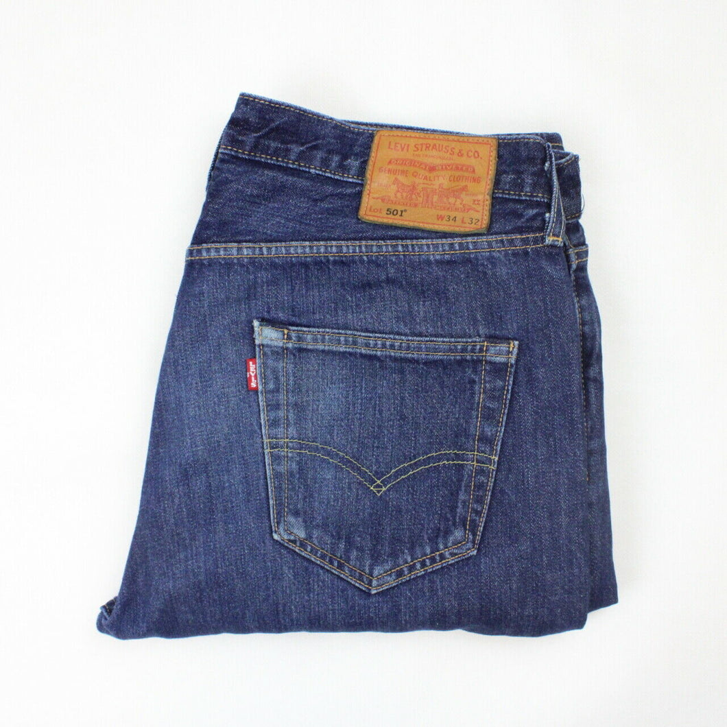 LEVIS 501 Big E Jeans Dark Blue | W34 L32