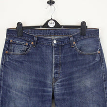 Load image into Gallery viewer, LEVIS 501 Jeans Dark Blue | W38 L30