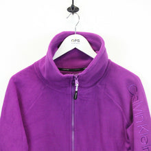 Load image into Gallery viewer, Womens CALVIN KLEIN Fleece Purple | Small