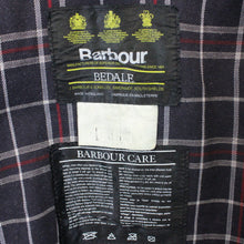 Load image into Gallery viewer, BARBOUR Bedale Waxed Jacket Blue | Large
