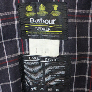 BARBOUR Bedale Waxed Jacket Blue | Large