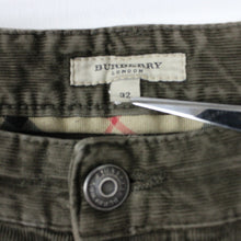 Load image into Gallery viewer, BURBERRY Corduroy Jeans Brown | W32 L32
