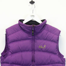 Load image into Gallery viewer, Womens JACK WOLFSKIN Bodywarmer Purple | Medium