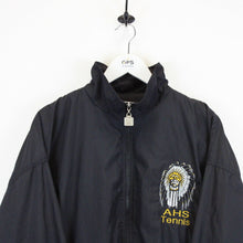 Load image into Gallery viewer, Vintage WILSON Track Top Jacket Black | Large
