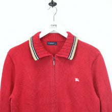 Load image into Gallery viewer, Womens BURBERRY Knit Sweatshirt Red | Small