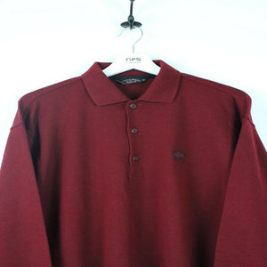 PAUL & SHARK Polo Shirt Red | Medium