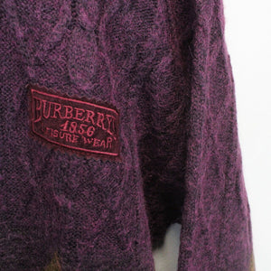 Womens BURBERRYS OF LONDON 90s Knit Sweatshirt | Medium