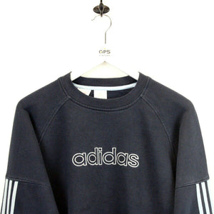 ADIDAS 00s Sweatshirt Navy Blue | Small