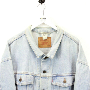 LEVIS 80s Denim Jacket Light Blue | XL