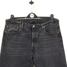 Load image into Gallery viewer, LEVIS 501 Jeans Black Charcoal | W36 L32